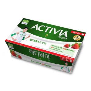 [다논] 풀무원다논 액티비아컵딸기 80Gx8