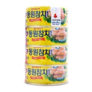 동원 화이바플러스참치 100Gx4