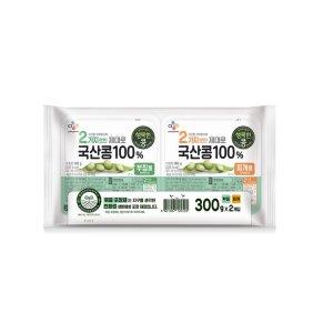 씨제이 행복한콩부침찌개 기획  300gx2