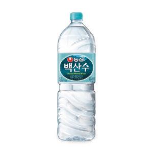 [백산수] (묶음할인)농심 백산수 2L