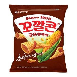 [롯데제과] 롯데 꼬깔콘군옥수수맛 144G