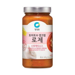 [청정원] (행사상품)대상 청정원로제스파게티소스 600G