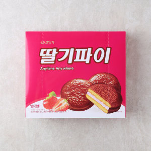 [크라운] (1+1)크라운 딸기파이 300G
