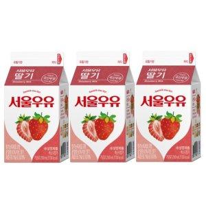 [서울우유] 서울 딸기우유 200mlx3
