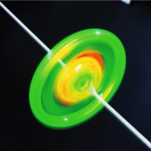 LED씽씽이/실팽이/LED팽이/과학완구/원심력/자가발전