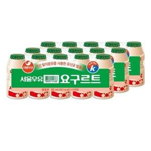 [서울우유] 서울 요구르트 65MLx15