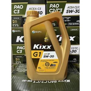 [킥스] Kixx G1 5W30/4리터/최신규격/SP/가솔린/합성엔진오일