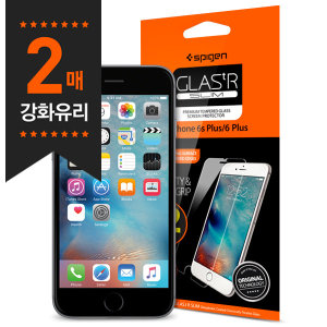 [슈피겐] 슈피겐 아이폰6S플러스/6플러스 강화유리 글라스tR