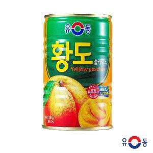 [유동] 유동 황도슬라이스 400g 복숭아 과일 화채 서비스안주