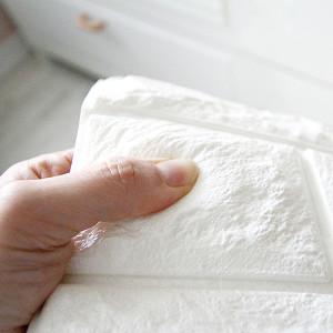[현대시트] 쿠션벽돌 폼블럭 폼브릭 시트지 벽지 단열벽지 파벽돌