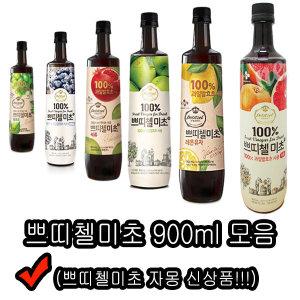 쁘띠첼 미초 900ml/홍초/음료수/흑초/파인애플식초