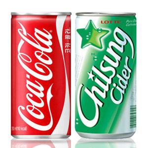 [코카콜라] 코카콜라 190mlx30캔 사이다/콜라/환타/음료수