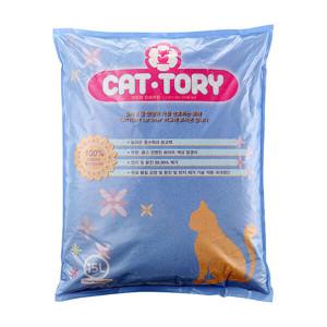플레인 캣토리 모래 15L (무향) 고양이모래