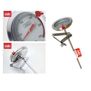 델키튀김온도계/기름온도계/튀김기온도계/가정용