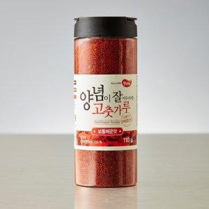 [햇님마을] 영양 양념이잘어우러지는고춧가루 보통맛  110G