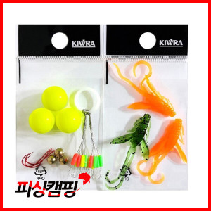 KIWRA 키우라 송어낚시 마커채비 세트/송어루어세트