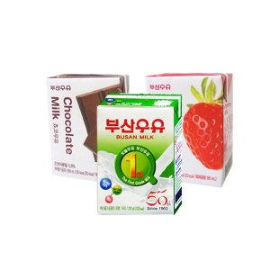 [부산우유] 부산우유200ml/180mlx24입/멸균우유/우유