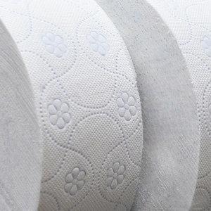[팜파스(제지)] 100% 무형광 장폭3겹 대용량꽃무늬 점보롤화장지휴지