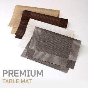식탁 매트 테이블 메트 방수 러너 실리콘 북유럽