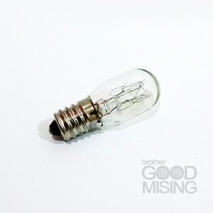 미싱전구 2개세트 재봉틀 전구 부라더미싱 브라더