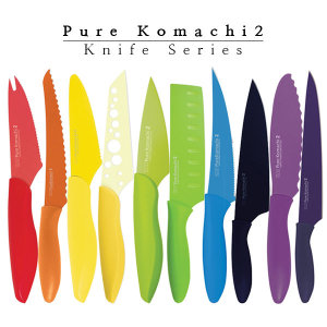 [카이] 정품 퓨어코마치 칼 산토쿠 나이프 주방칼 이유식칼