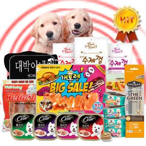 기본 + 추가할인 6봉 애견간식 강아지간식 고양이간식
