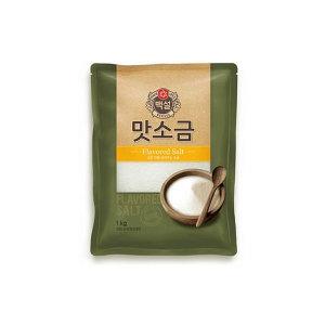 [백설] 백설 맛소금1kg/소금/맛소금