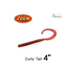 [zoom] ZOOM 줌 C테일 컬리테일 4인치10cm /민물 배스웜 루어