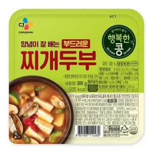 [행복한콩] 씨제이 행복한콩 찌개두부 300g