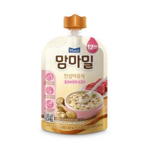 [맘마밀] (1+1)매일유업 맘마밀안심이유식표고버섯과소고기12개월 100G