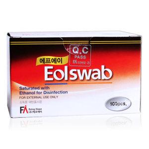 FA 알콜스왑 100매 이올스왑 이올 알콜솜