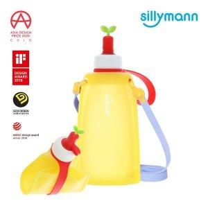 [실리만] 실리콘 물 주머니 300ml WSK422 레몬