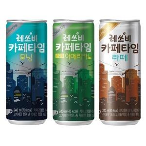 [롯데칠성] 레쓰비카페타임 240mlx30캔/캔커피/커피/캔음료