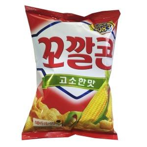[롯데제과] 봉지과자 꼬깔콘 고소한맛 72g