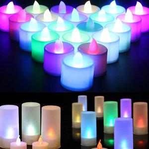 LED 티라이트 촛불이벤트 전자양초 캔들 컵라이트
