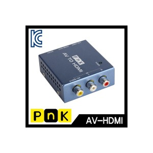 피엔케이  P018A AV(컴포지트) TO HDMI 변환컨버터/변