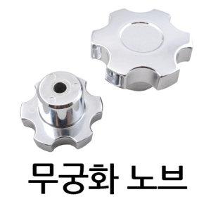 무궁화노브/손잡이/전산/사각/관통/핸들/볼트