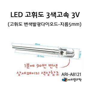 - 발광다이오드(10개입) - LED 고휘도 3색 고속변색