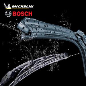 [미쉐린] 미쉐린 와이퍼 보쉬 실리콘와이퍼 자동차와이퍼 1P+1P