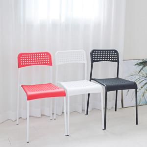 에이디 의자 체어 인테리어 보조 플라스틱 간이
