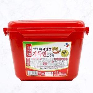 해찬들 태양초 알찬고추장 4.5kg/고추장