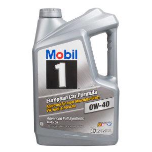 [모빌원] 5개용량 Mobil1 모빌원 OW430 4.73L 엔진오일 미국
