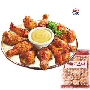 [사조참치] 사조-버팔로 스틱1kgx2봉 콜라겐이풍부한 닭날개 호프
