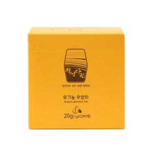 유기농 우엉차 20g(1gX20티백)/국내산우엉/강원이야기