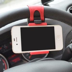 차량용 스마트폰 핸들거치대