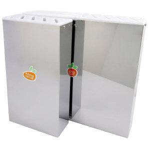 MA 국산 스텐 위생 칼꽂이(벽걸이형)/업소용 칼집