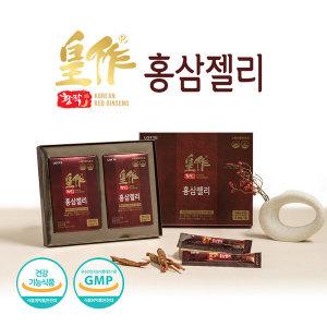 [롯데제과] 롯데헬스원 6년근 홍삼농축액 황작 홍삼젤리30포 스틱
