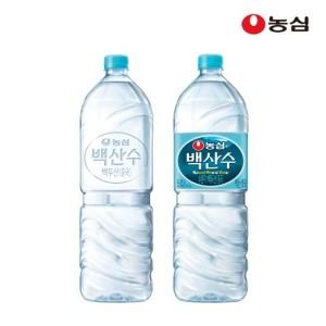 [백산수] 농심 백산수 2L x 12병 무료배송