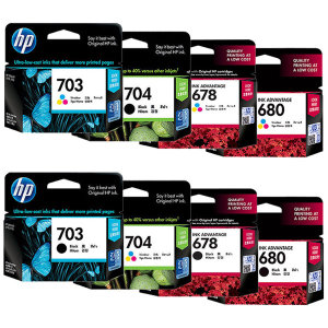 [HP] 정품잉크 HP703 HP704 HP678 HP680 외