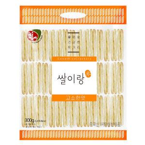 [홈플러스] (1+1) 쌀이랑고소한맛 300G